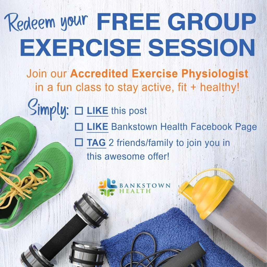 FREE Group Exercise Class